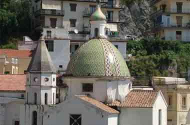 Cetara Cupola chiesa San Pietro