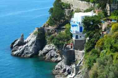 Hotel villa San Michele vista dal mare