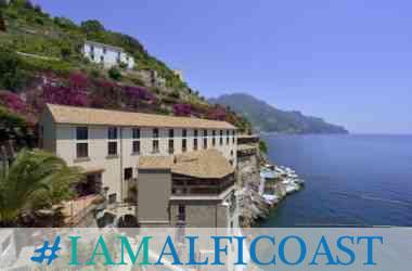 Hotel Marmorata vista dal mare