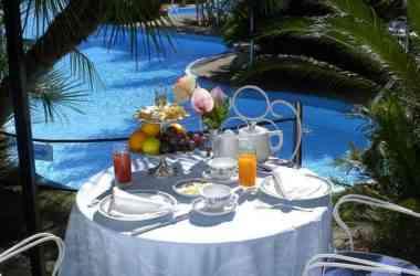 Reginna Palace Hotel dettaglio piscina