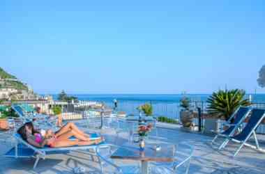 Riviera Hotel terrazza solarium