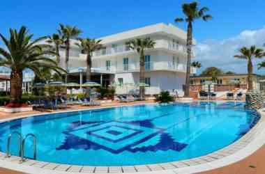 Hotel Olimpico vista