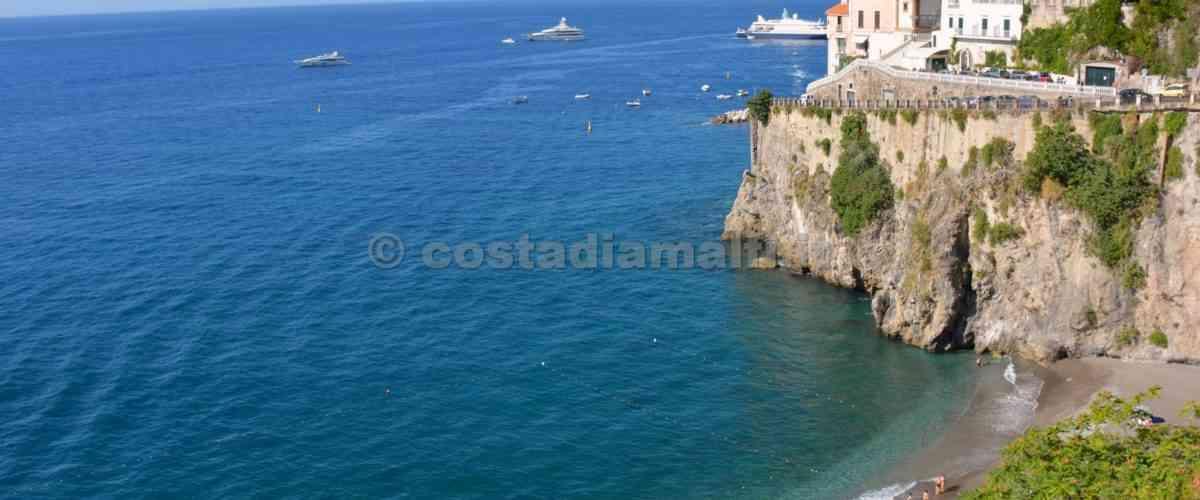 Le spiagge di Ravello in Costiera amalfitana