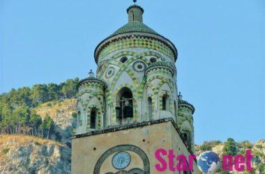 Amalfi Il Campanile Del Duomo