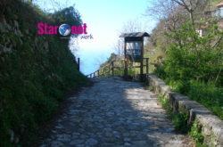Inizio sentiero degli dei partenza da Agerola