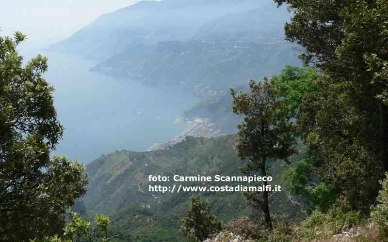 Trekking Costiera Amalfitana verso il Santuario della Madonna dell'Avvocata