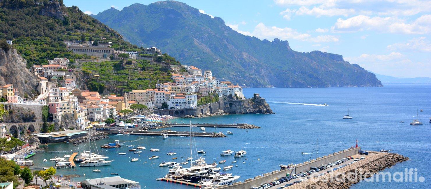 Costiera amalfitana, visita la costa più bella del mondo!