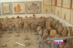 Antiquarium villa romana: anfore romane
