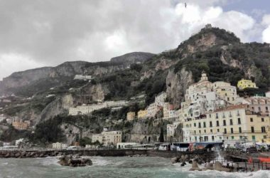 Amalfi Panorama Dal Mare