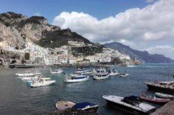 Costa Di Amalfi In Autunno
