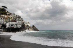 Costiera Amalfitana Il Mare In Autunno