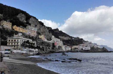 La Spiaggia Grande Di Amalfi