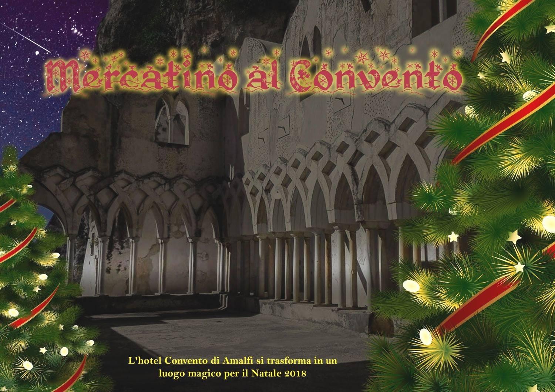 Mercatini di Natale ad Amalfi, Mercatino al Convento