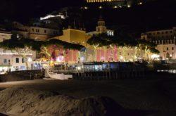 Amalfi La Spiaggia Di Notte