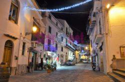 Cetara Corso Garibaldi Con Le Luci Di Natale