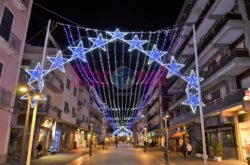 Maiori Corso Reginna Luminarie Di Natale