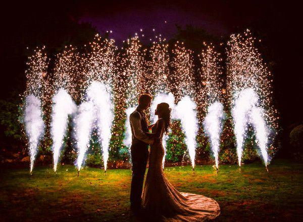 Fontane Pirotecniche Matrimonio
