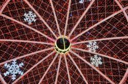 Piazza Ferrovia Interno della palla di Natale
