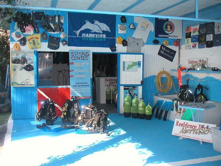 Diving center Nettuno